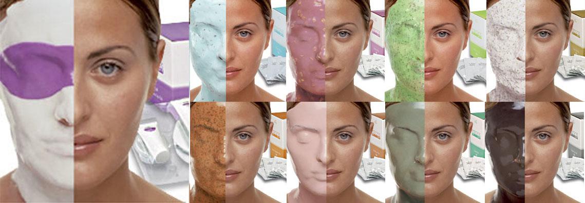 отбеливающие альгинатные маски